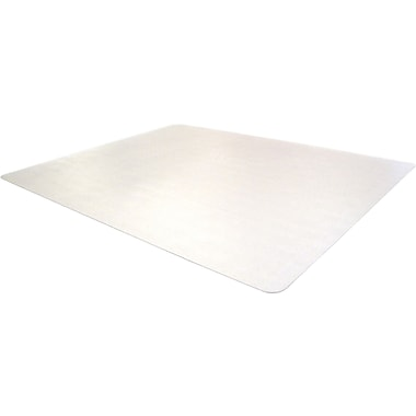 Cleartex Advantagemat Phthalate Free PVC Chair Mat for Hard Floors, Rectangle, 48in.x60in.
