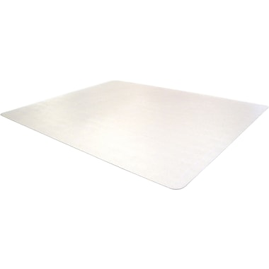 Cleartex Advantagemat Phthalate Free PVC Chair Mat for Low Pile Carpet, Rectangle, 48in.x60