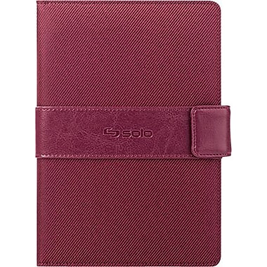Solo (CLS222) 7in Classic Universal Tablet Case, Burgundy