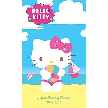 2014 Hello Kitty, 2 Year Pocket Planner, 3in.x6in.