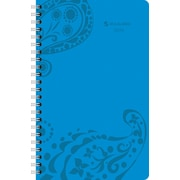 2014 AT-A-GLANCE® Paisley Desk Weekly/Monthly Appointment Book, 5 1/2 x 8 1/2