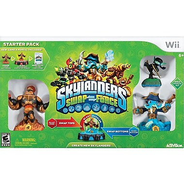 Blizzard Inc. Skylanders Swap Start  Pack, Wii