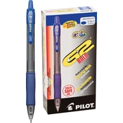 Pilot G2 Premium Retractable Gel Roller Pens, Bold Point, Blue, 12/Pack (31257)