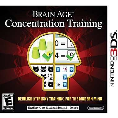 Brain Age: Concentration, Nintendo 3DS