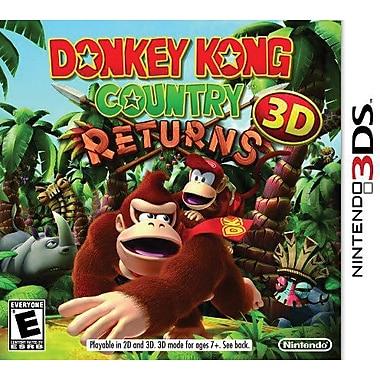 Donkey Kong Country Returns, Nintendo 3DS