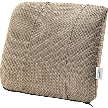 Tempur-pedic® Lumbar Cushion with Fabric Cover, Beige