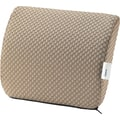 Tempur-pedic® Travel Lumbar Cushion with Fabric Cover, Beige