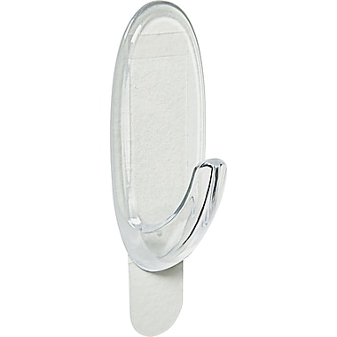 Command™ Clear Outdoor Medium Window Hooks, 2/Pack