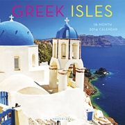 2014 Greek Isles Wall Calendar, 12 x 12