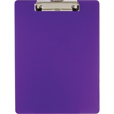 OIC® Recycled Clipboards, Purple