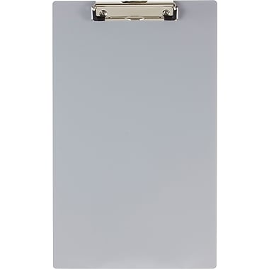 OIC® KK Clipboard, Aluminum, Legal Size 8-1/2in. x 15.5in.