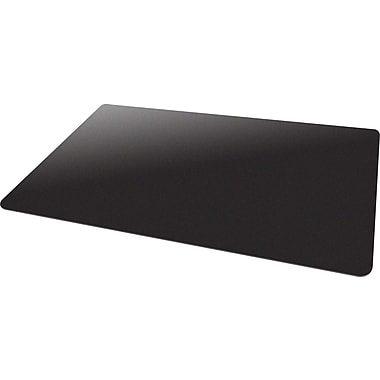 Deflecto Blackmat Hard Floor Vinyl Chair Mat NonStudded, Rectangle, 46in.x60in., Black
