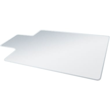 deflect-o® SuperMat Chair Mat For Medium Pile Carpet, Clear, 48in.L x 36in.W