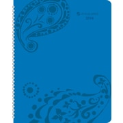 2014 AT-A-GLANCE® Paisley Professional Weekly/Monthly Appointment Book, 8 1/2 x 11