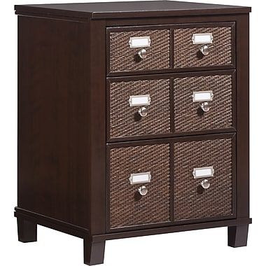 INSPIRED by Bassett Cain Storage Unit, Tahiti Brown Finish