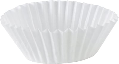 Dixie 8AAX Fluted Baking Cup, White, 500/Case 150115
