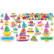 Monsters Birthday Mini Bulletin Board, English