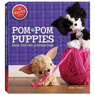 Klutz® Pom-Pom Puppies: Make Your Own Adorable Dogs, English