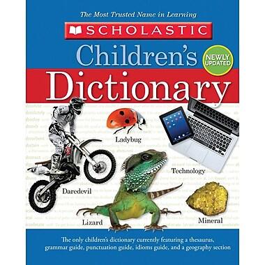 Scholastic Children's Dictionary, 2013, English
