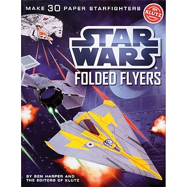 Klutz® Star Wars Folded Flyers: Make 30 Paper Starfighters, English