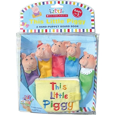 Little Scholastic: This Little Piggy: Hand Puppet Board Book, English