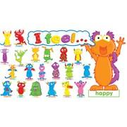 Monster Feelings Mini Bulletin Board, English
