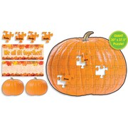 Pumpkin Puzzle Bulletin Board Set, English