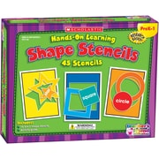 Hands-On Learning: Shape Stencils, English