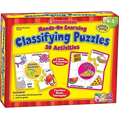 Hands-On Learning: Classifying Puzzles, English