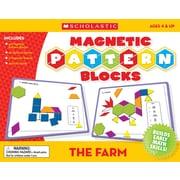 Farm Magnetic Pattern Blocks, English