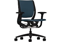 HON Purpose Task/Computer Chair for Office and Computer Desks, Onyx Frame