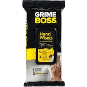 Grime Boss® Hand & Surface Wipes, 30 Wipes/Pack