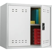 Safco 27H Steel Storage Cabinet, Gray