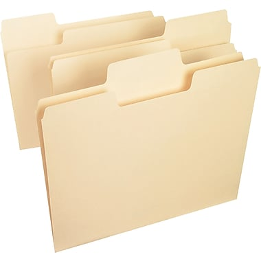 Smead SuperTab® Heavyweight Folder, Legal Size, 1/3-Cut, 50 per box