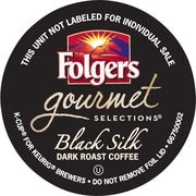 Folgers Gourmet Selections® K-Cup® Black Silk Coffee, Regular, 18/BX