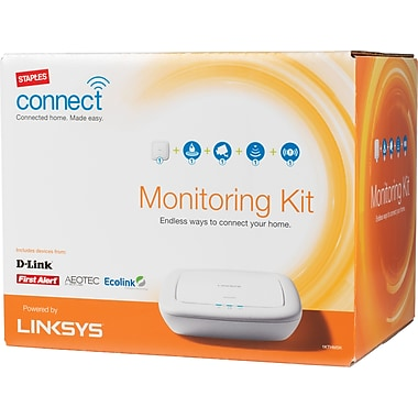 Staples Connect Home Monitoring Kit