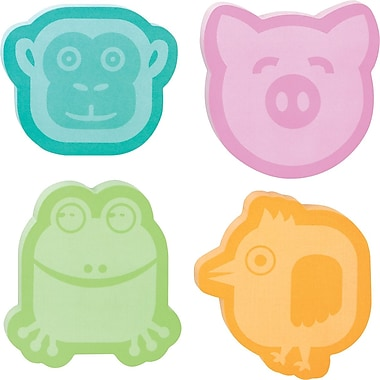 Post-it® Animal -Shaped Die-Cut Memo Cube, 2 Pads/Pack