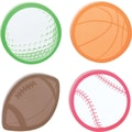 Post-it® Sports-Shaped Die-Cut Memo Cube, 2 Pads/Pack