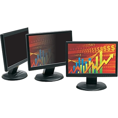 3M™ LCD Monitor 23in. Widescreen Privacy Computer Filter, Black