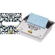 Post-it® 3 x 3 Designer Series Pop-Up Note Dispenser with Brocade Insert, Each