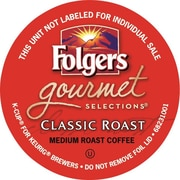 Folgers Gourmet Selections® K-Cup® Classic Roast Coffee, Regular, 18/BX