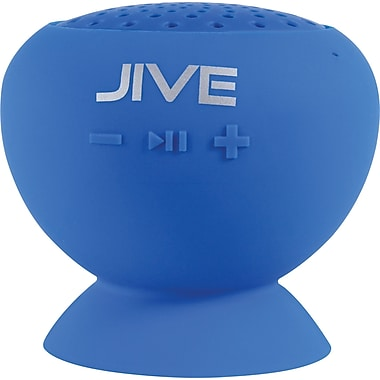 Digital Treasures Lyrix JIVE Bluetooth Water Resistant Speaker, Blue