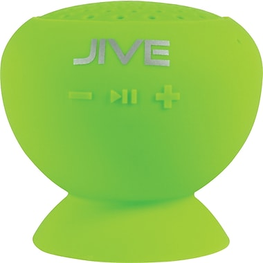 Digital Treasures Lyrix JIVE Bluetooth Water Resistant Speaker, Green