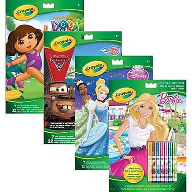 Crayola® Art and Activity Book