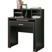 Monarch Specialties - Bureau coulissant, fini cappuccino