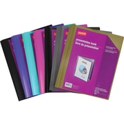 Staples® Presentation Book with 20 Pockets