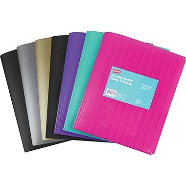 StaplesMD – Porte-documents à 10 pochettes
