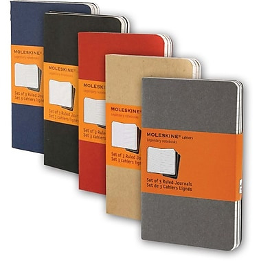 Moleskine® Cahier Pocket Ruled Journal, 3 - 1/2