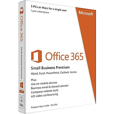 Microsoft Office 365 Small Business Premium for Windows/Mac
