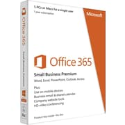 Microsoft Office 365 Small Business Premium for Windows/Mac (5-Device) [Product Key Card]